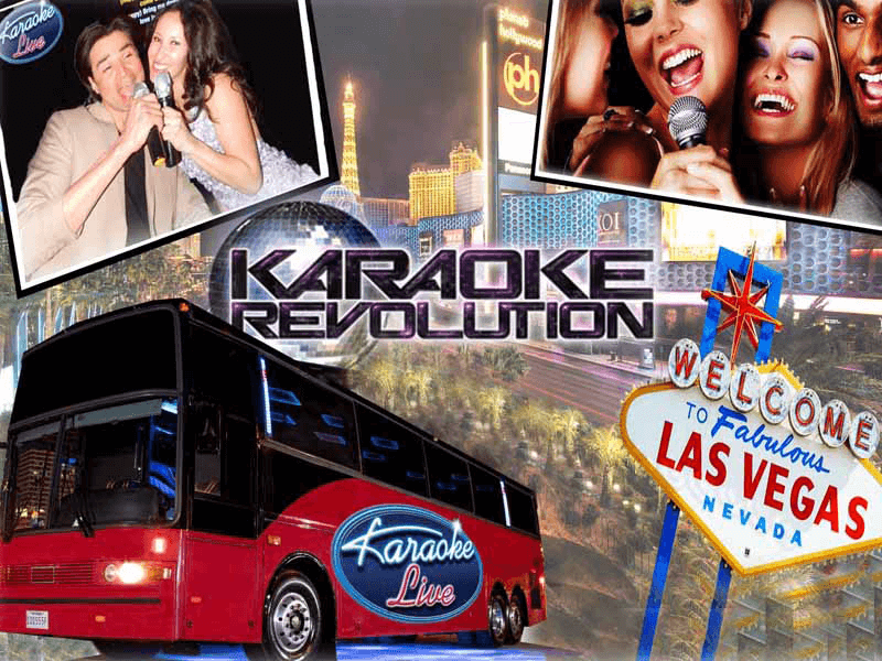 Party bus karaoke