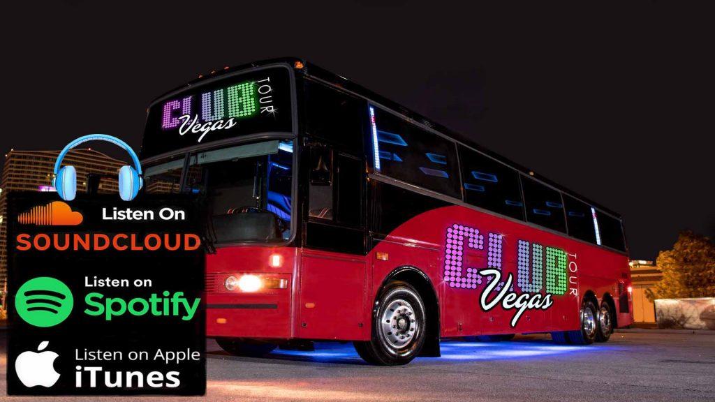 CLUB CRAWL TOUR LAS VEGAS PARTY BUS DJ